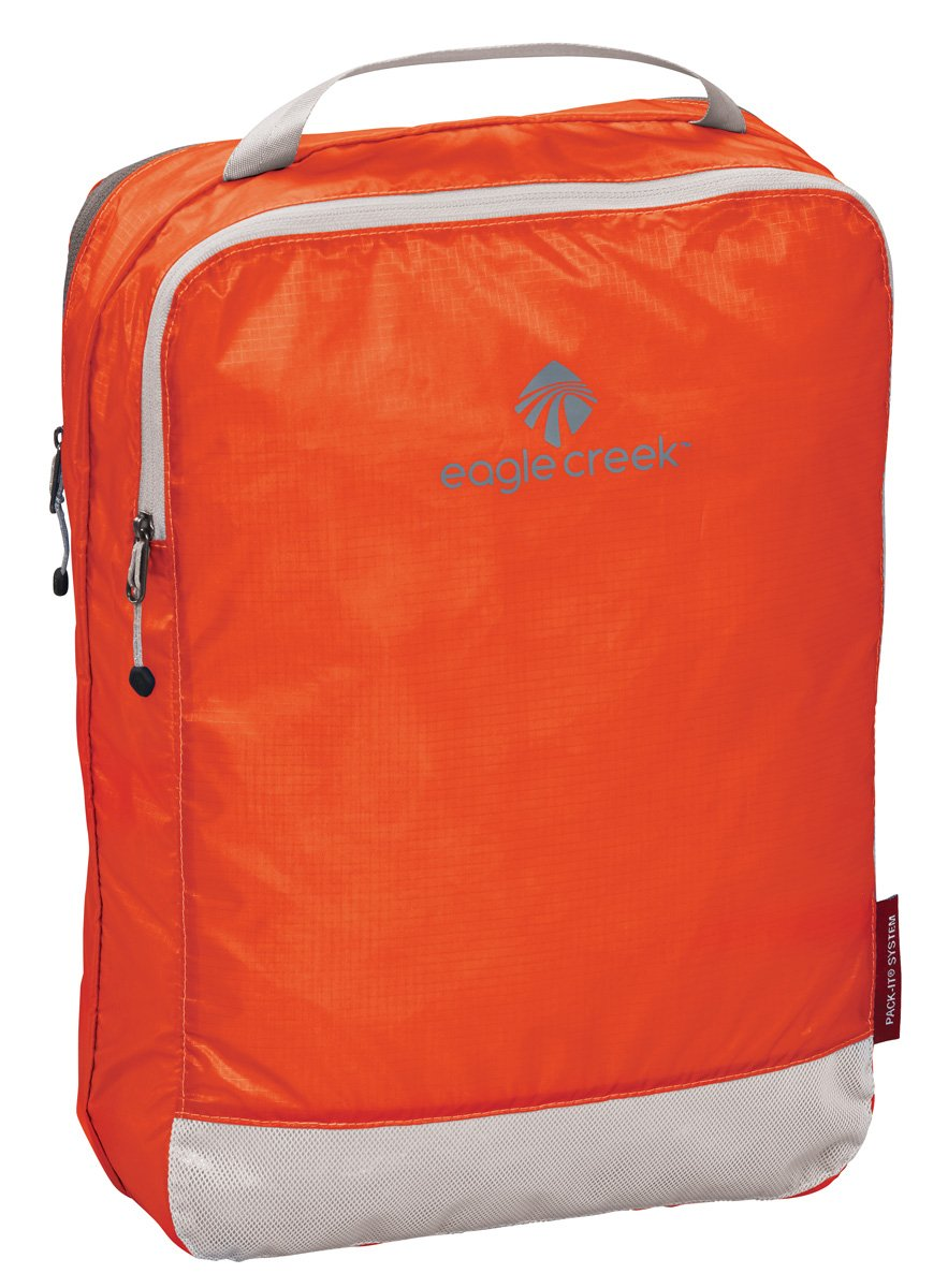 Eagle Creek Pack-it Specter Clean Dirty Cube, Flame Orange