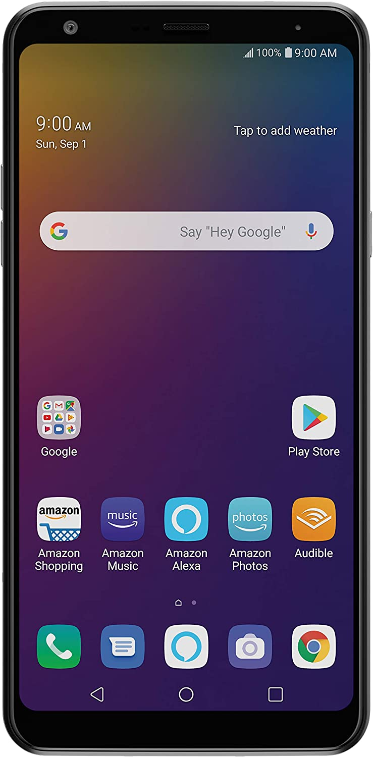 LG Stylo 5 with Alexa Push-to-Talk – Unlocked – 32 GB –...
