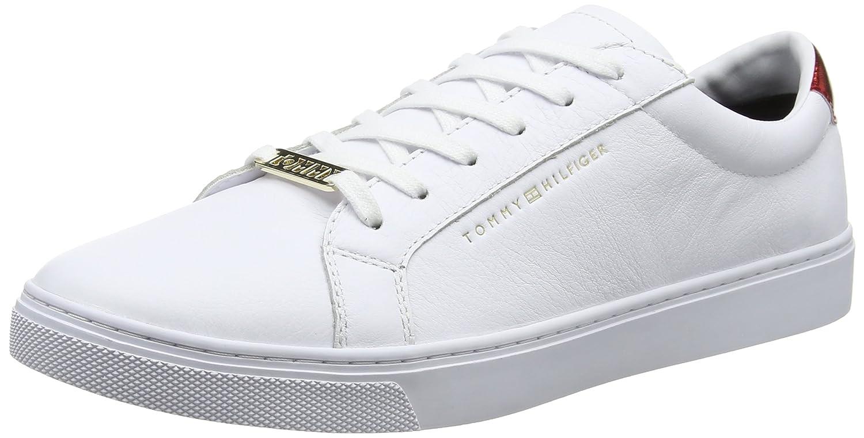 Tommy Hilfiger Essential Sneaker, Zapatillas para Mujer 41 EU|Blanco (Rwb 020)
