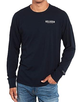 bae1a1b91 Amazon.com: Hollister Men's Short & Long Sleeved Crew Neck T-Shirt ...