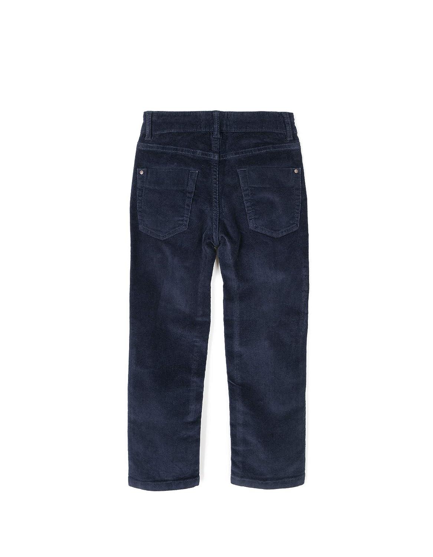 ZIPPY Pants Corduroy Black Iris Pantaloni Bambino