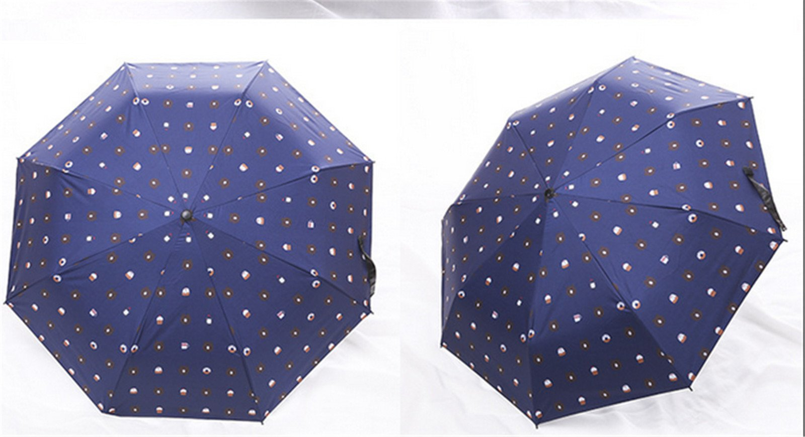 GKRY Fashion Art Umbrella/Windproof Travel Umbrellas/Folding Umbrella/for Business and Travels/SPF 352+ SUN RAIN Umbrella/RAIN Umbrella The ultra fine umbrella blue sky. by GKRY Home (Image #3)
