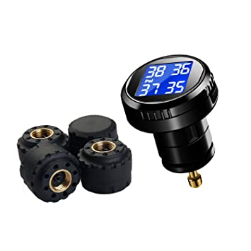 Amazon.com: VESAFE Wireless Tire Pressure Monitoring System ...