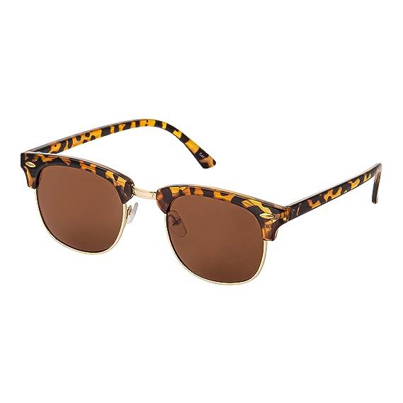 Ultra Marco de Carey con Lentes Marrones Gafas de Sol de ...