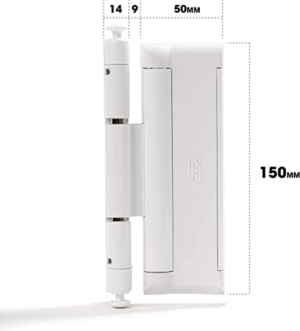 CAL DOUBLEX XL, para seguridad de puerta y ventana, protección contra robos, cerradura de ventana - 2 pestillos de acero: Amazon.es: Bricolaje y herramientas