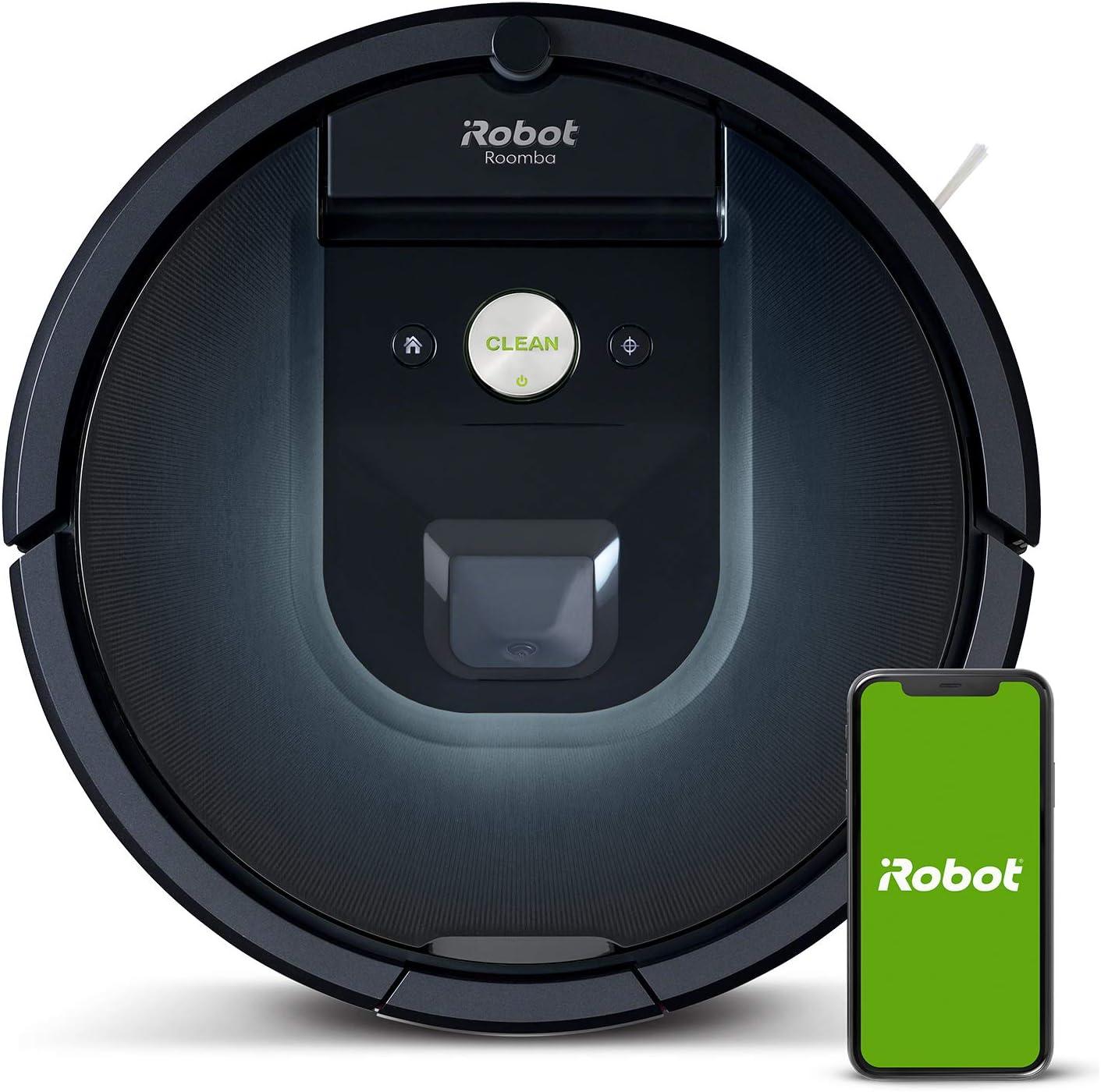 iRobot Roomba 981, aspirateur robot, idéal pour les tapis avec forte puissance...