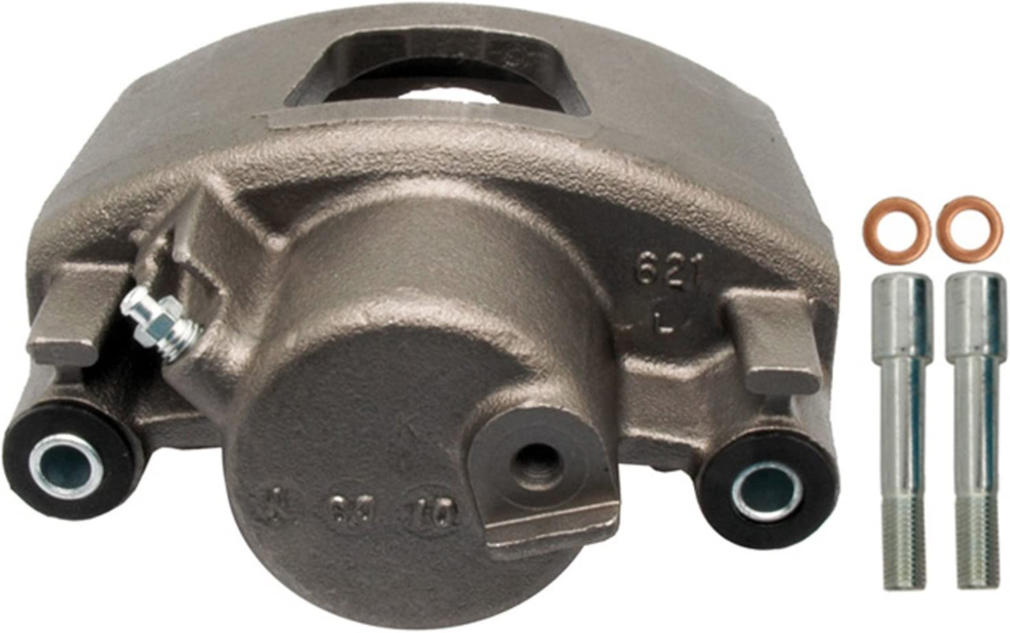 Friction Ready Non-Coated Remanufactured ACDelco 18FR1137 Professional Front Disc Brake Caliper Assembly without Pads