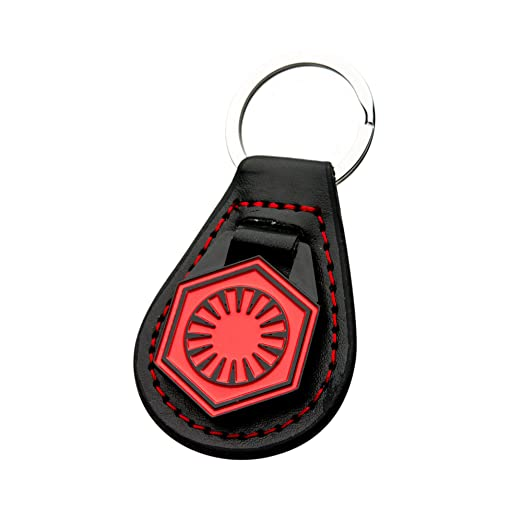 Amazon Star Wars First Order Symbol Leather Keychain Clothing