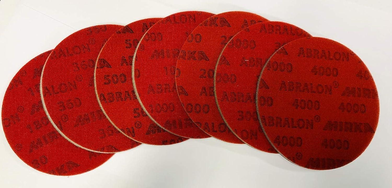 Almohadilla de Lijado Todos los Granos de 150 mm de di/ámetro, sin Agujeros, Preparar y Limpiar su Bola EMAX Bowling Service GmbH MAXIMIZE YOUR GAME Abralon