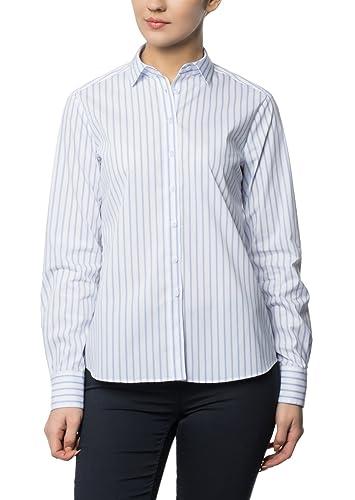 ETERNA long sleeve Blouse COMFORT FIT striped