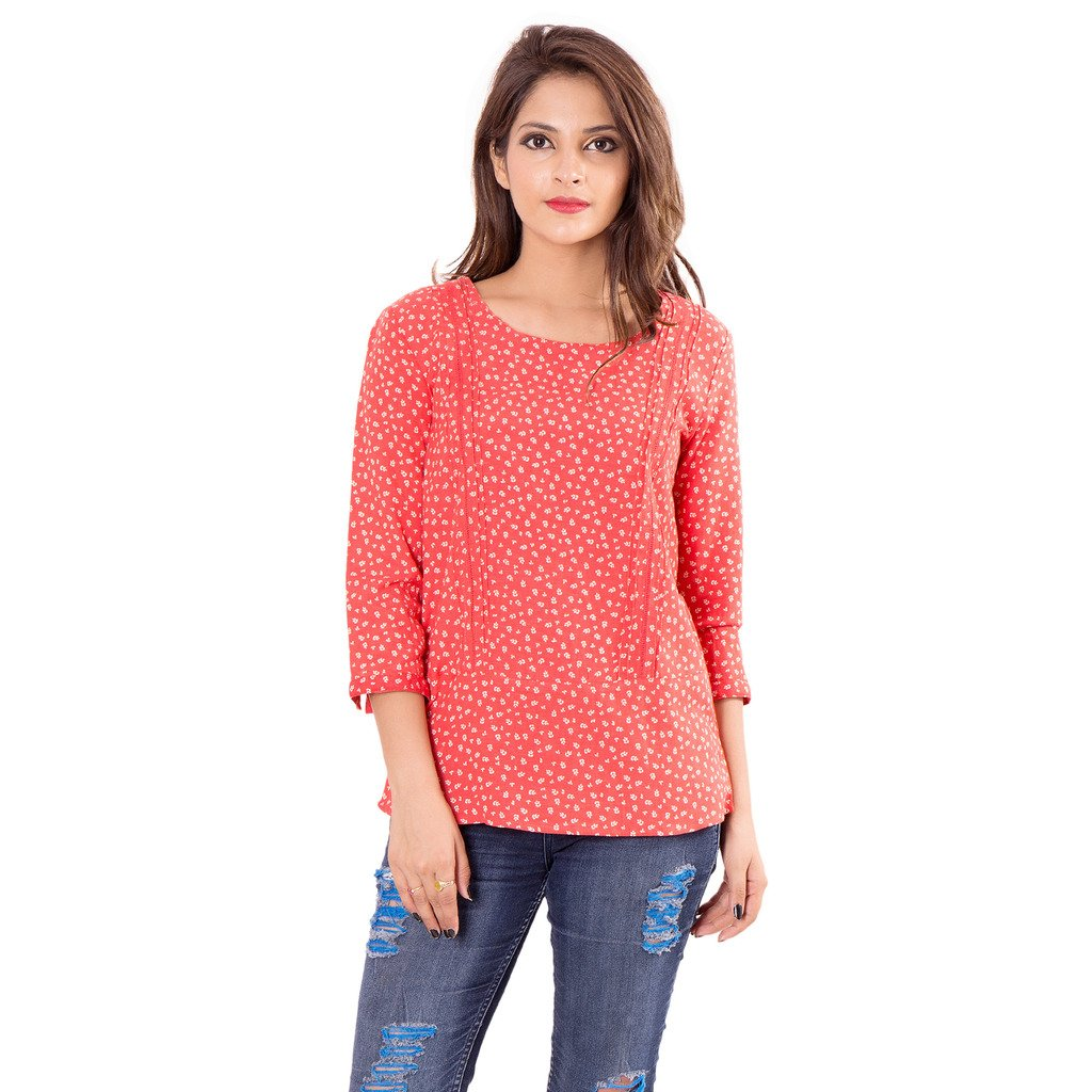 741ea898ce4 GOODWILL Women's Top (Red): Amazon.in: Clothing & Accessories