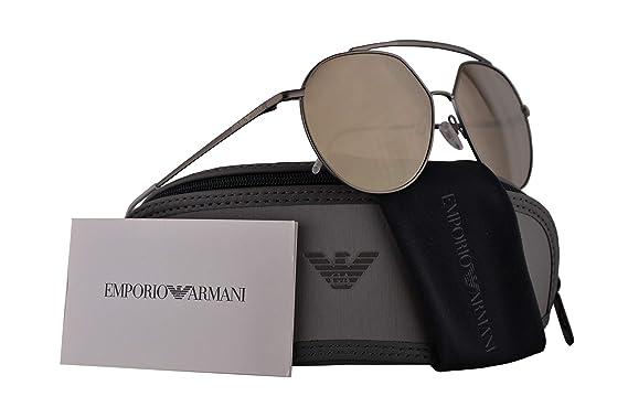 Amazon.com: Emporio EA2070 Armani - Gafas de sol (metal ...