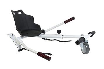 Sumun Sbksgt Asiento Kart Hoverboard, Blanco/Negro, 6.5
