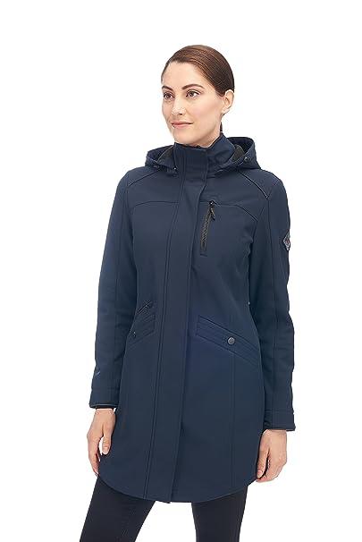 Alpine North Womens Softshell Long Coat