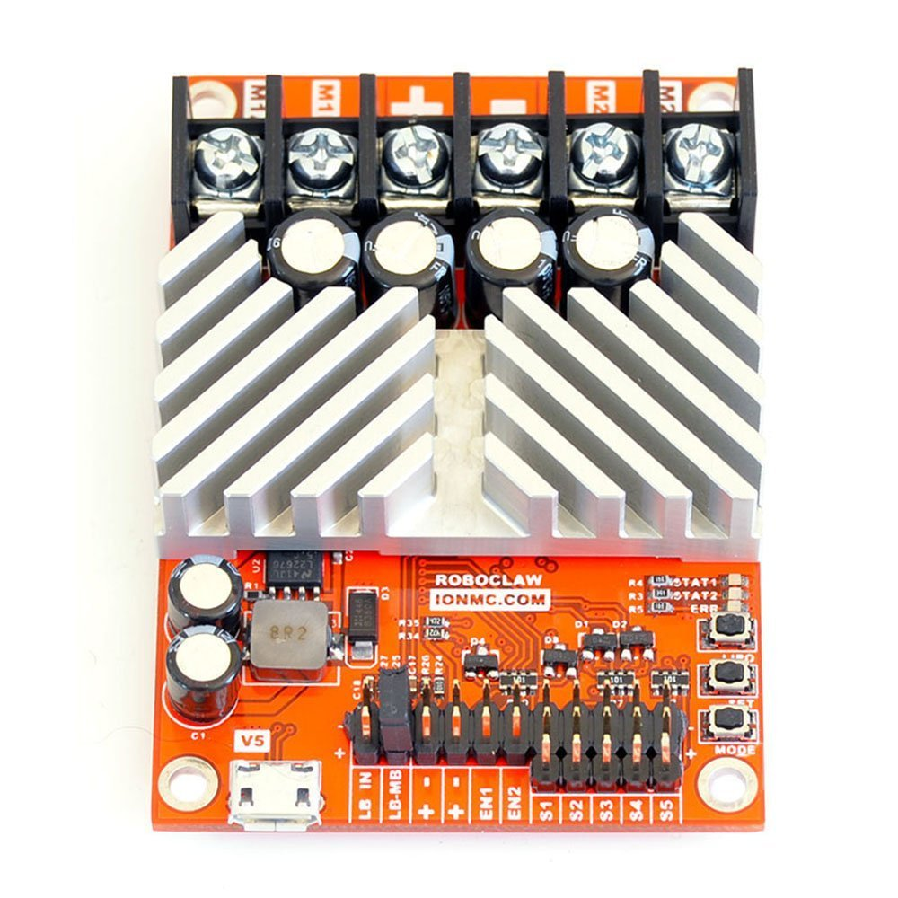 RoboClaw 2x15A Motor Controller, 2 Channel, 15Amps Per Channel, 6-34VDC