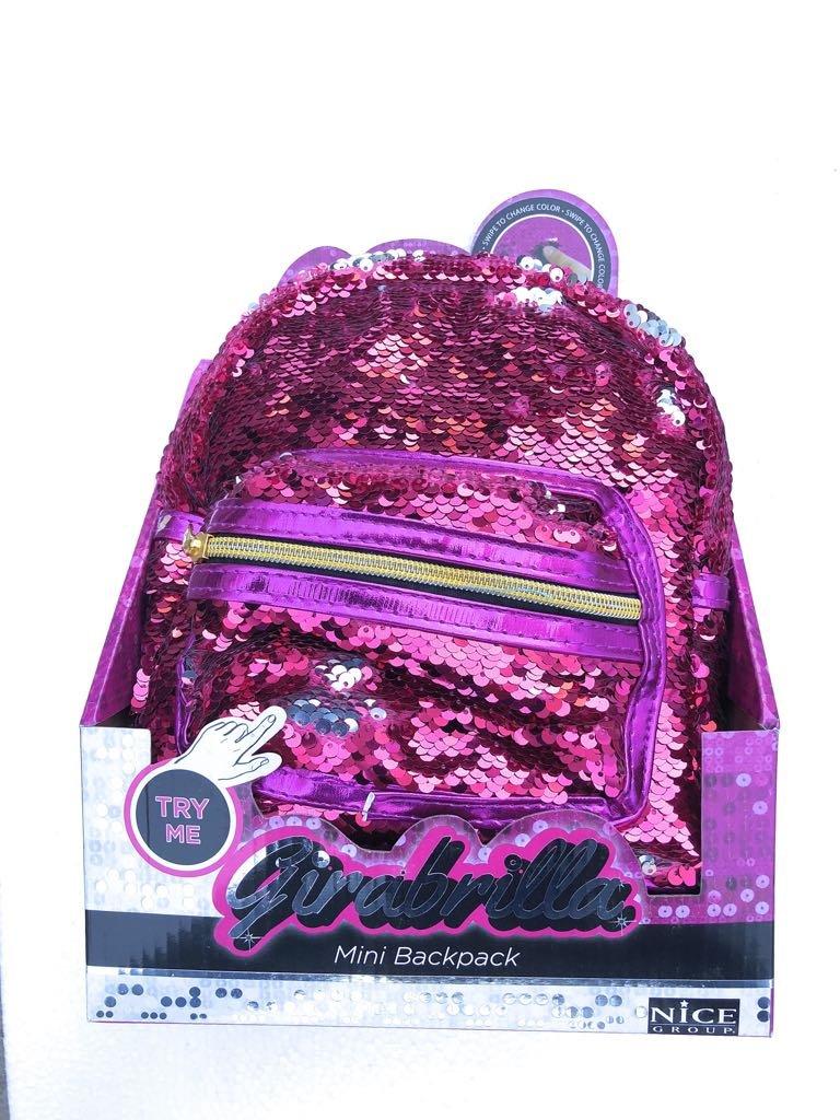 fe92b76202 Girabrilla Girabrilla Girabrilla Mini Zaino colore rosa - Fucsia di Nice  02516 278fb8