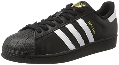adidas - Superstar Foundation, Sneakers da uomo, Cblack/Ftwwht/Cblack, 49.3333333333