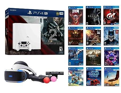 Amazon Com Deluxe Ps4 Destiny 2 Bundle 16 Items Ps4 Pro 1tb