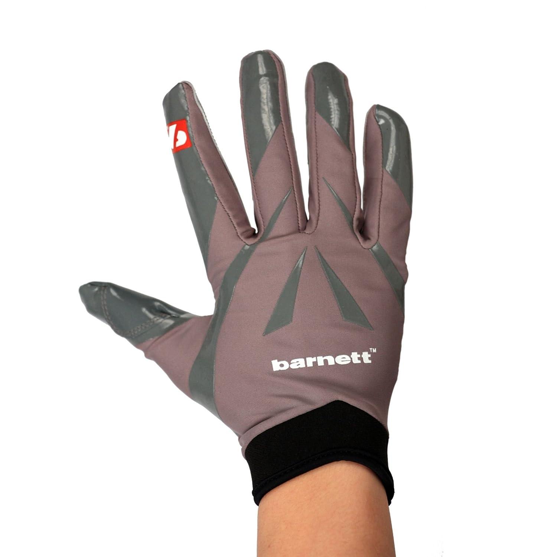 Barnett FRG-03 American Football Handschuhe Empf/änger Receiver Profi RE,DB,RB grau