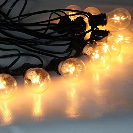 Outdoor led festoon fairy string lights with 10 bulbs and 9m outdoor led festoon fairy string lights with 10 bulbs and 9m connectable lead cable ipx mozeypictures