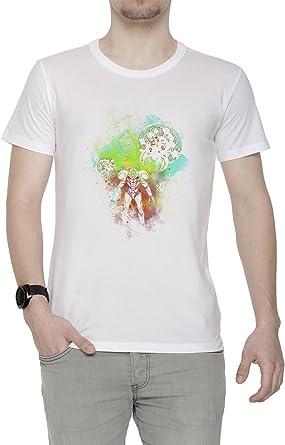 Generosidad Cazador de Espacio Hombre Camiseta Cuello Redondo Blanco Manga Corta Tamaño XXL Mens White XX-Large Size XXL: Amazon.es: Ropa y accesorios