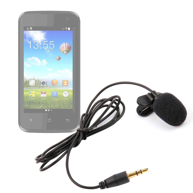 DURAGADGET Micrófono de Solapa/Clip Lavalier, omnidireccional para Smartphone Samsung Galaxy Amp Prime 2, C7 Pro (SM-C7010), C9 Pro, S336C, Z4: Amazon.es: Electrónica