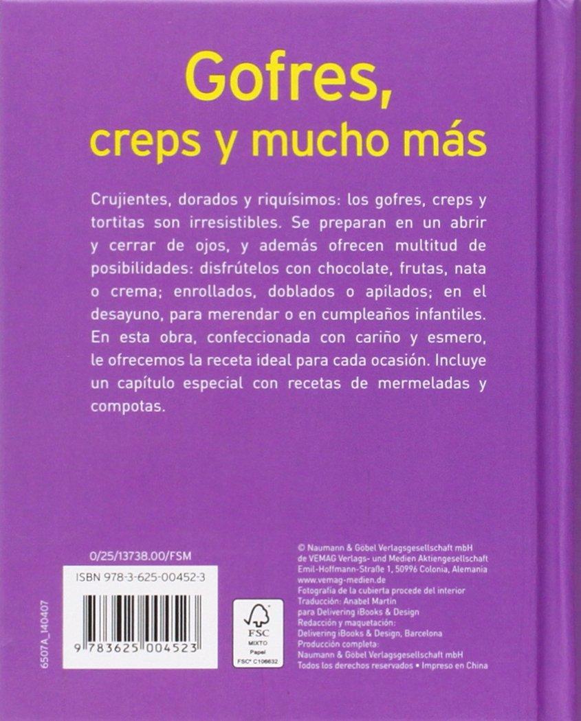 GOFRES CREPS Y MUCHO MAS MINILIBROS DE P: 4523: 9783625004523: Amazon.com: Books