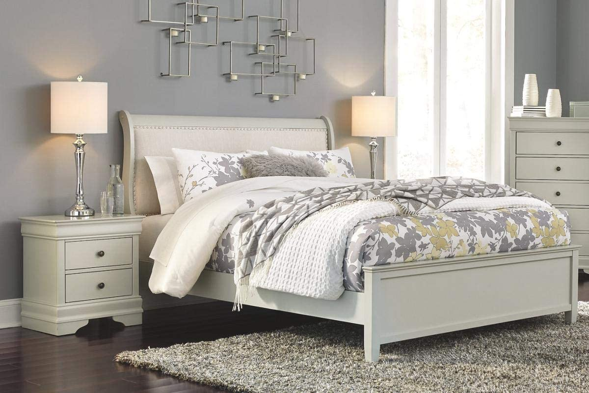 Amazing Buys Jorstad Bedroom Set By Ashley Furniture Includes King Bed Dresser Mirror And 2 Night Stands Amazon Co Uk Kitchen Home