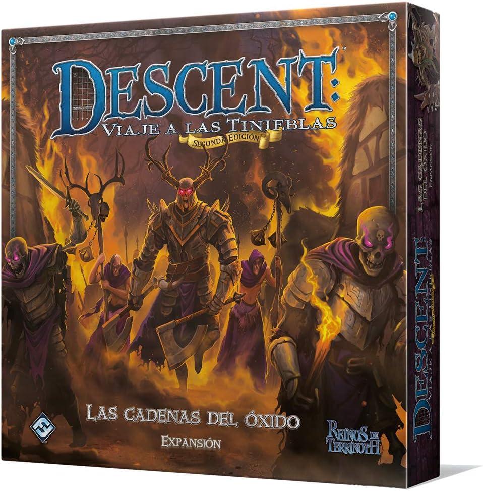 Fantasy Flight Games-Las Cadenas del óxido (FFDJ44): Amazon.es: Juguetes y juegos