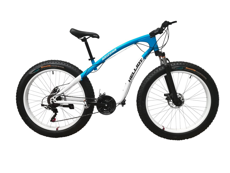 Helliot Bikes Arizona Fat Bike Bicicleta de Montaña, Adultos Unisex, Gris Oscuro/Granate, M-L: Amazon.es: Deportes y aire libre