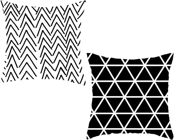 Simple Geometric Pillow Cover Sofa Cushion Cover Car Bedroom Decor Pillow Cases