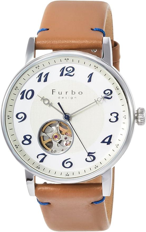 [フルボデザイン] 腕時計 F8202SWHLB メンズ ブラウン