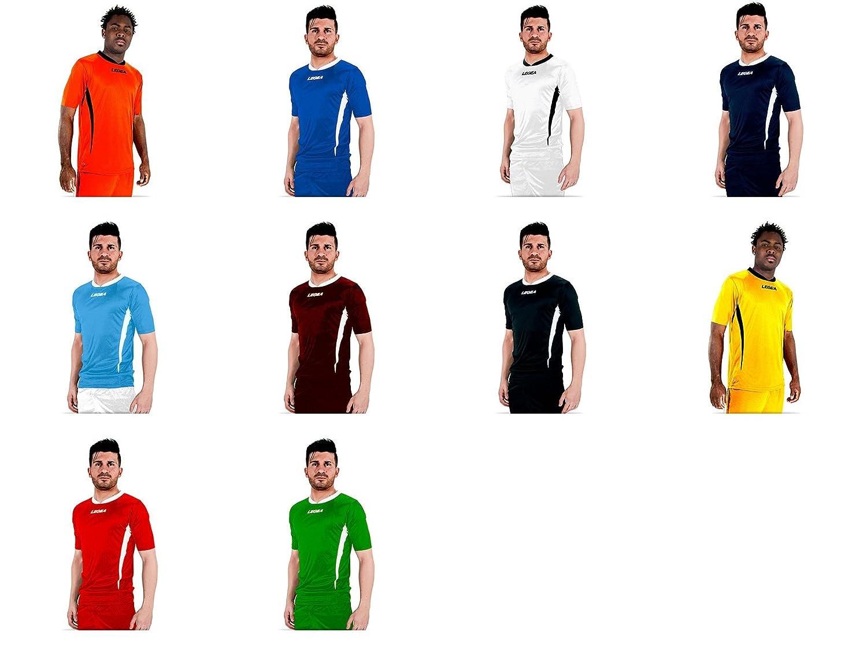 Legea - Kit de fútbol sala Dusseldorf, camiseta + pantalón, color ...