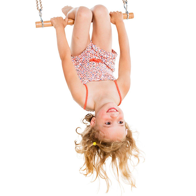 Bois Massif Swing Seat Triple Swing Pack Accessoires Trapeze Barre /& Acier Galvanis/é Anneaux