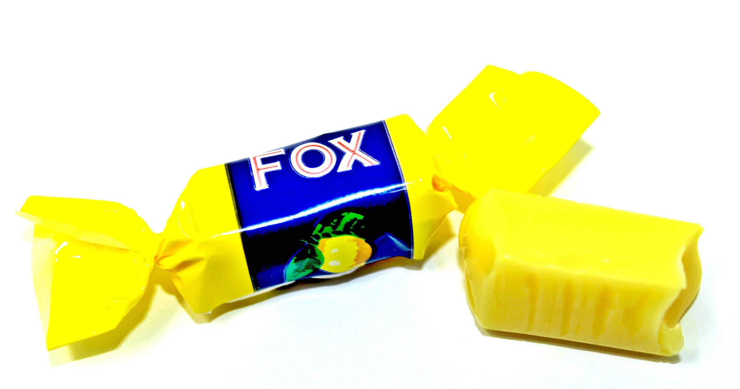 Malaco, Fox Lemon Toffee (Fox Losvikt) (2 Lbs)