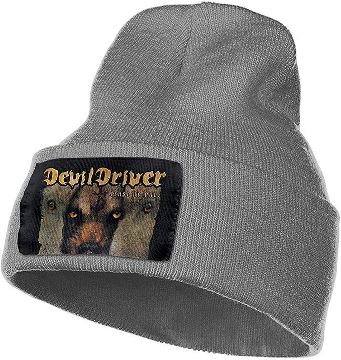 Hombres y Mujeres Devildriver Trust No One Skull Beanie Sombreros ...