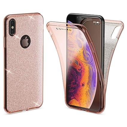 Amazon Com Nalia 360 Glitter Case Compatible With Iphone Xs Max