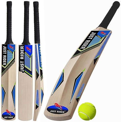 3. Just rider Popular Kashmir Willow 20-20 Cricket Bat