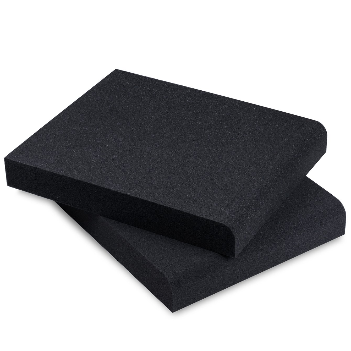 Sound Addicted - Studio Monitor Isolation Pads for 6.5'', 7'' and 8'' Inch Large Speakers | High Density Acoustic Foam Pair | SMPad 8 by Sound Addicted