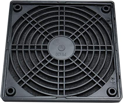 sourcing map PC Ordenador 120mm Ventilador para Caja Filtro De ...