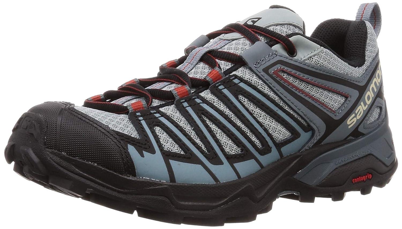 Bleu Noir SALOMON X Ultra 3 Prime  , Non-Waterproof, Chaussures de Randonnée Basses Homme 41 1 3 EU