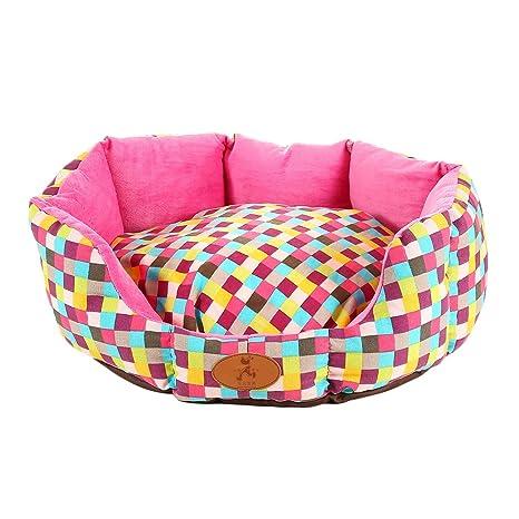 57 * 52 * 20 cm extraíble y lavable Pet nido perro durmiendo cama casa cuadros