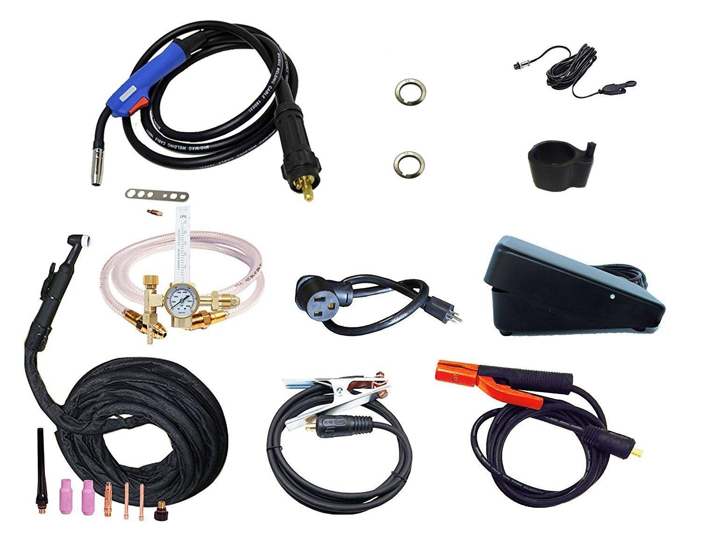 2017 Everlast PowerMTS 251Si Pulse MIG TIG Stick 250amp 110v/220v ...