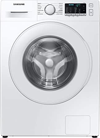Oferta amazon: SAMSUNG WW90TA046TE/EC Lavadora Estándar Serie 5, 9kg, Carga Frontal, Color Blanco, Tecnología EcoBubble, Motor Digital Inverter, Auto Dosificador, Inteligencia Artificial           [Clase de eficiencia energética A]