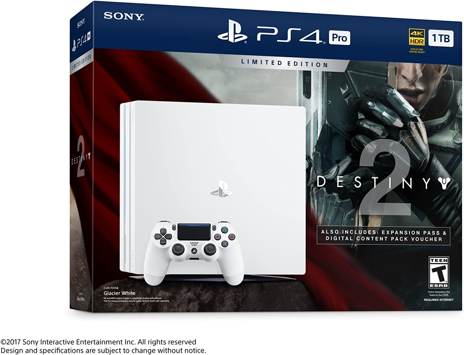 Sony PlayStation 4 Pro 1 TB Limited Consola Edición - Destino 2 Bundle [continuado]: Amazon.es: Videojuegos