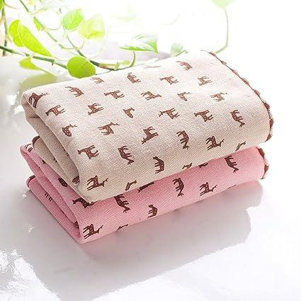 Longwei Toallitas para bebés pequeñas gasas de algodón Pañuelos de algodón Jacquard Pañuelos para el hogar