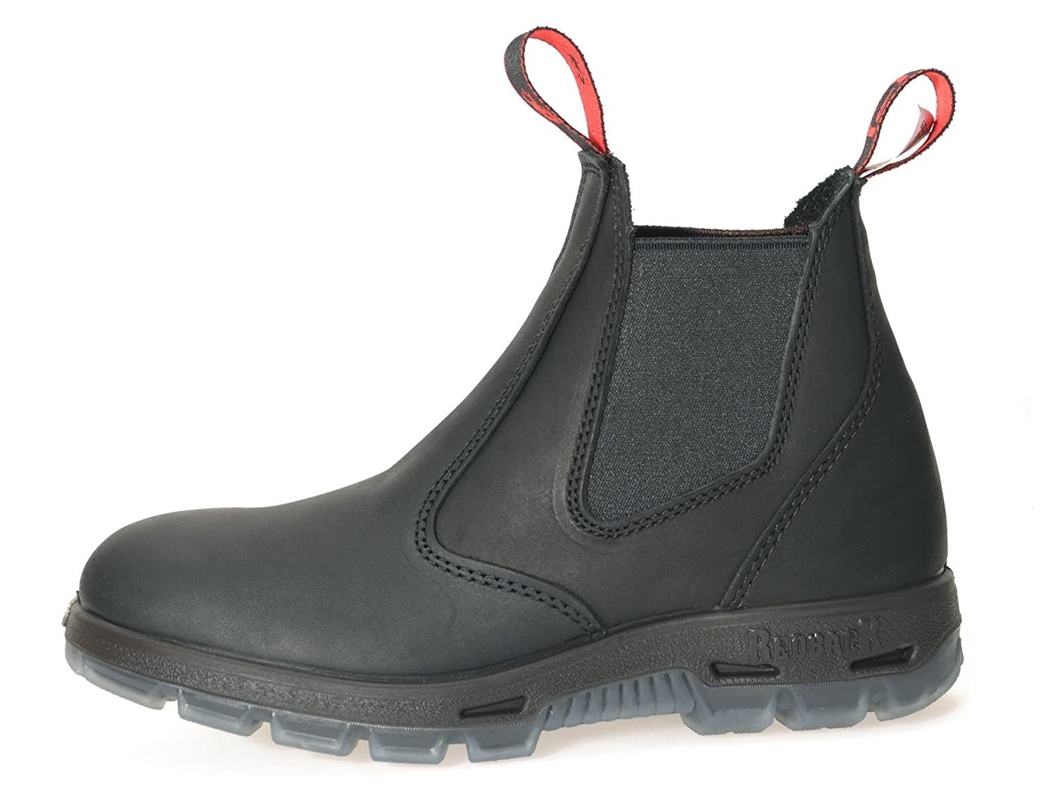 67340be90c0 Redback USBBK Australian Made Chelsea Safety Boots Black