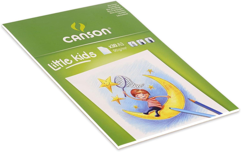 Bloc de dibujo Canson Little KidsWhite Drawing