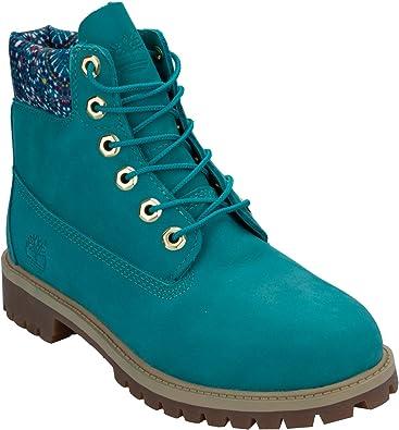 Timberland, Mädchen Stiefel & Stiefeletten grün blau