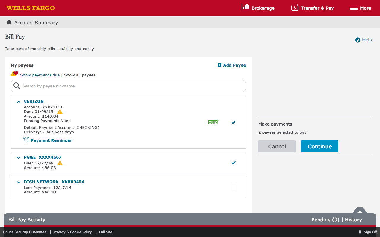 Freeware: Wells Fargo Desktop Shortcut
